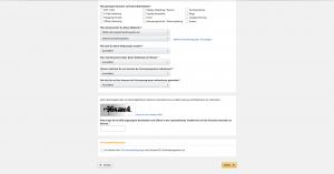 kostenlosen Amazon Affiliate Account erstellen daten eingeben seite 3