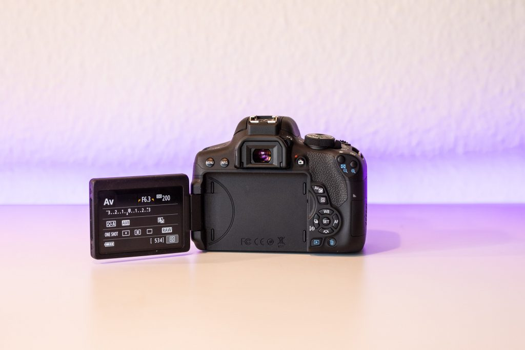 Canon EOS 750d test