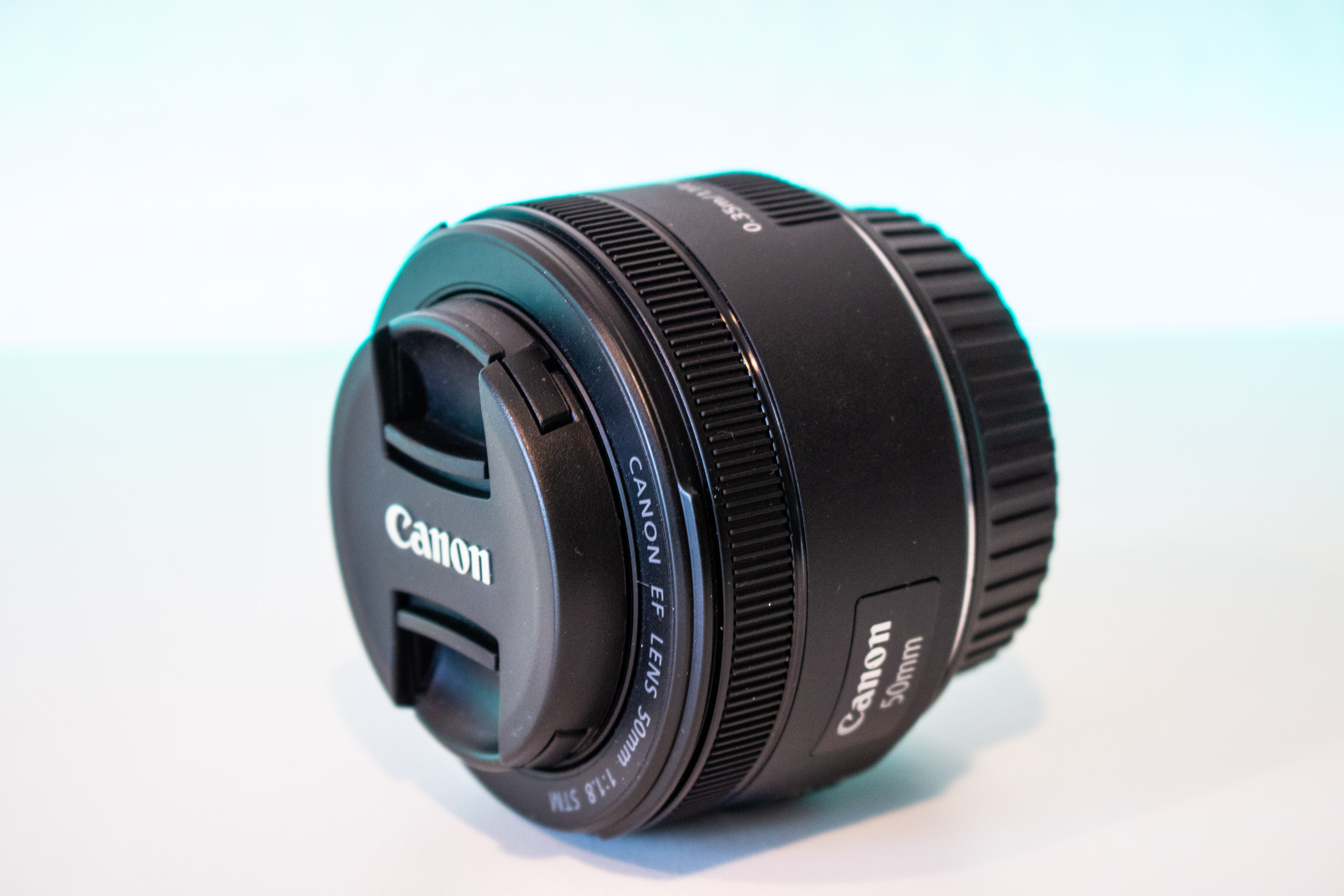 Canon EF 50mm f/1.8 frontansicht
