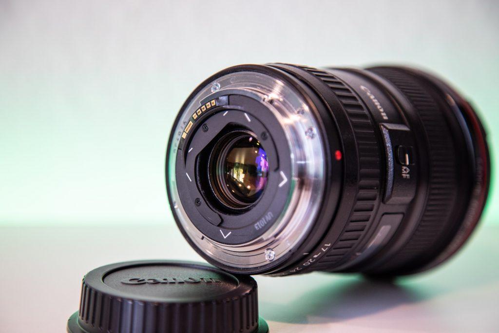 Canon EF 17-40mm f4 usmCanon EF 17-40mm f4 usm Rückseite