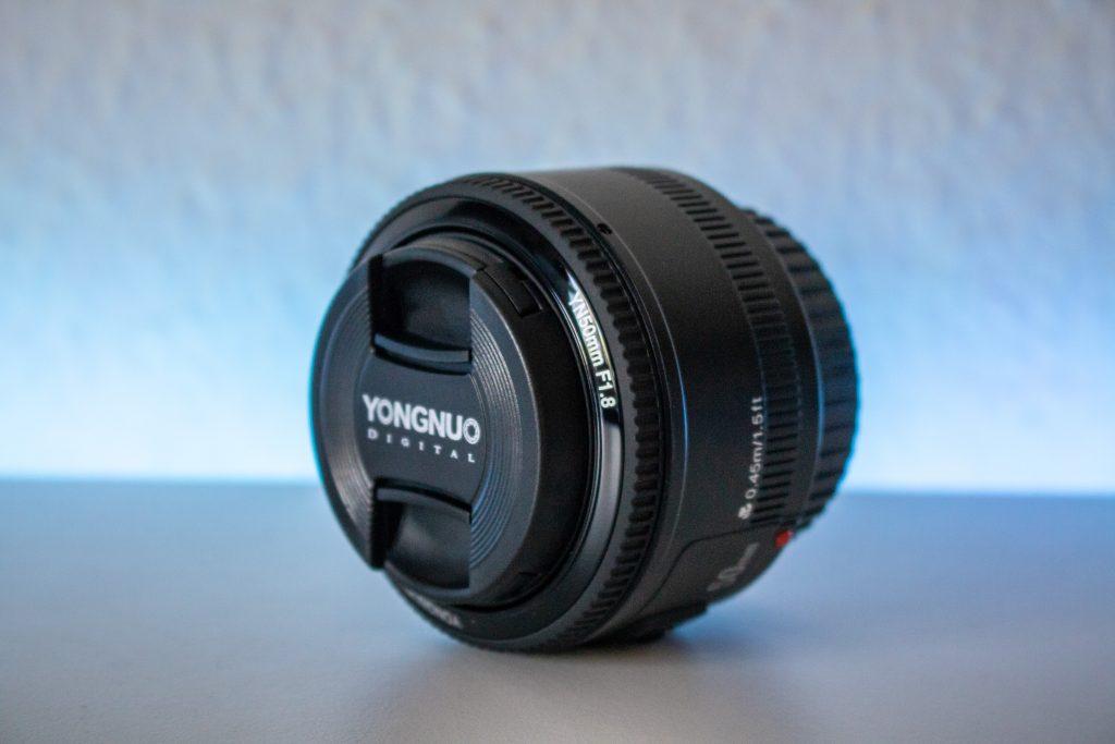 Yongnuo YN 50mm F1.8 deckel